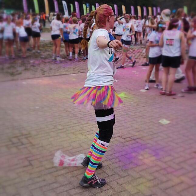 Spaß am Laufen beim Color Run