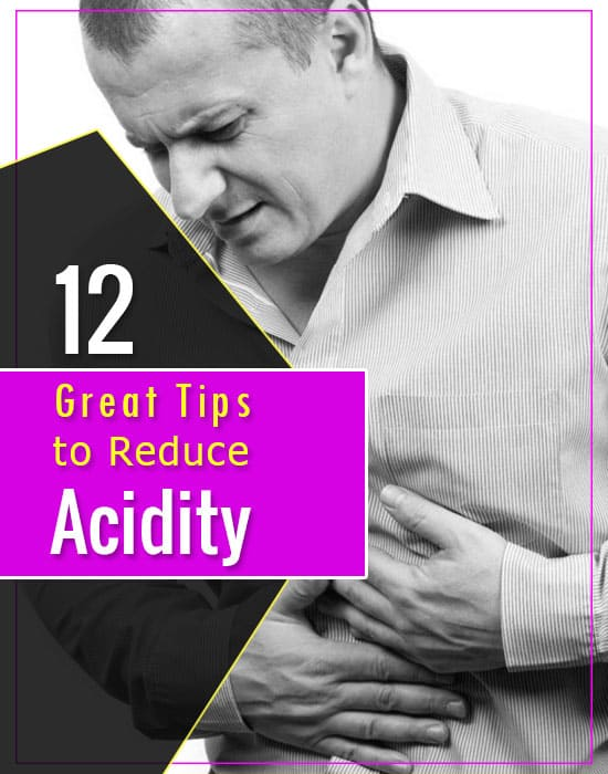 Tips to Reduce Acidity