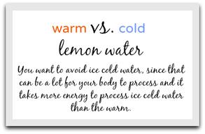 warmlemonwater
