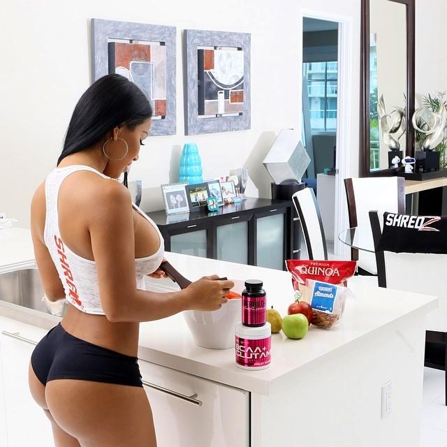 great fitness girl ass