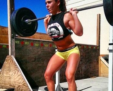 girls squatting