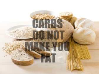 Weight Loss Myths Busted - Carbs Do Not Make You Fat www.fitnesshn.com