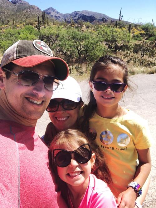 Sabino canyon walk 2