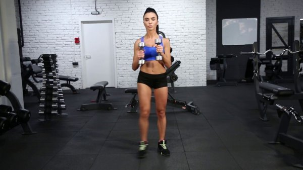Lateral Lunge - Legs Exercise
