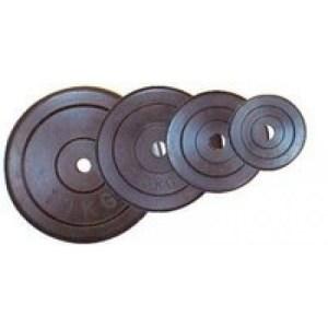 Gumis súlytárcsa 15 kg-os (31mm) - Robust
