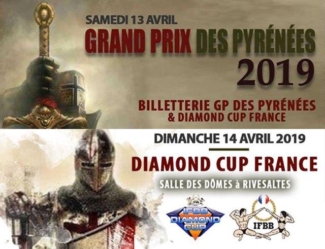 GP des Pyrénées & Diamond Cup 2019