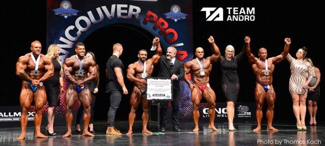 Hadi Choopan remporte l'open au Vancouver Pro 2019