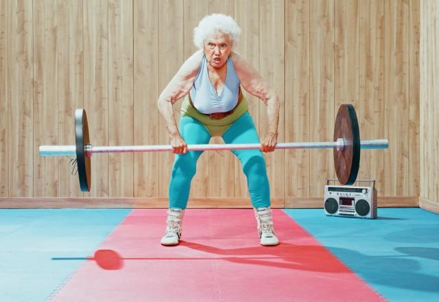 Les séniors, mobilité et souplesse aidé par la musculation