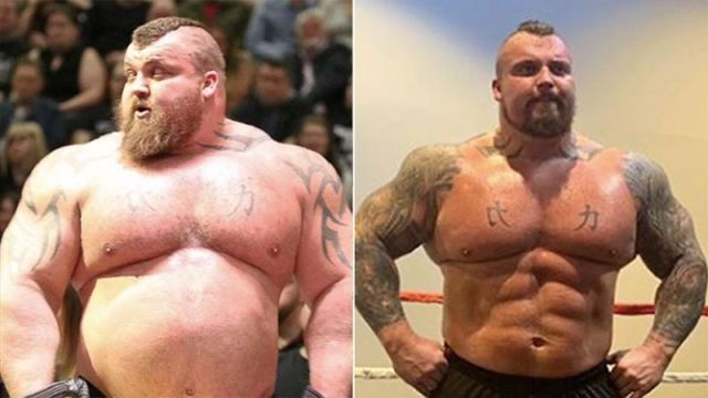 Eddie Hall Transformation