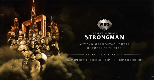 World Ultimate Strongman 2019 a Dubaï