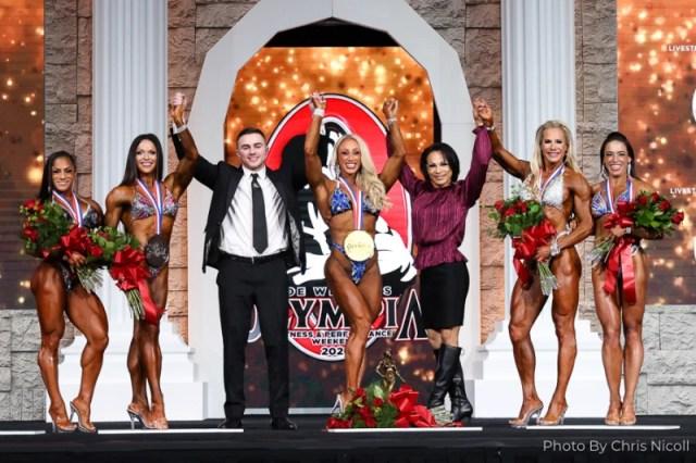 Finalistes de la catégorie Fitness à Mr Olympia.