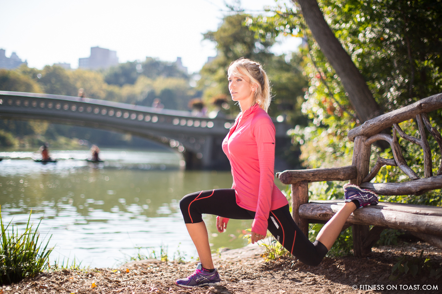 Central Park Leg Workout In New York Fitness On Toast