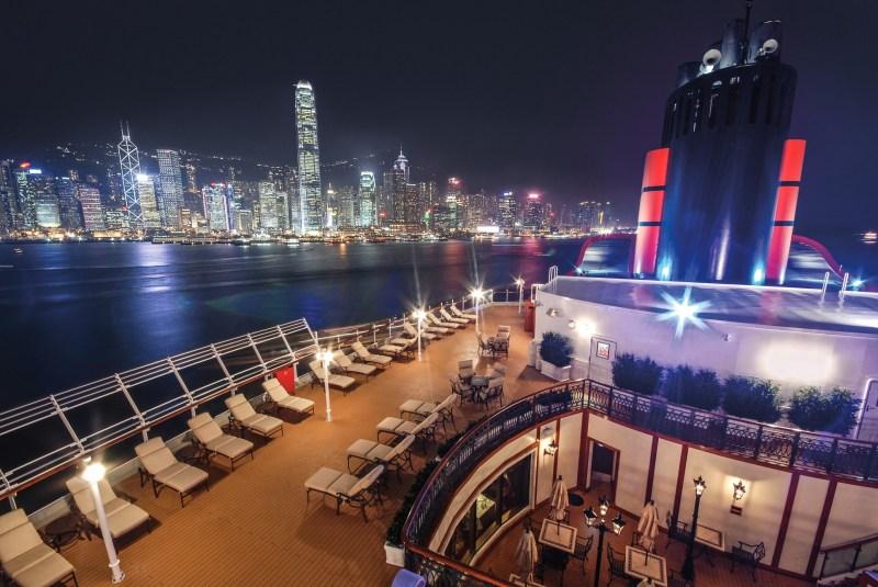 Faya Fitness On Toast Cunard Cruise Queen Elizabeth Ocean Liner Healthy Escape Carnival-2