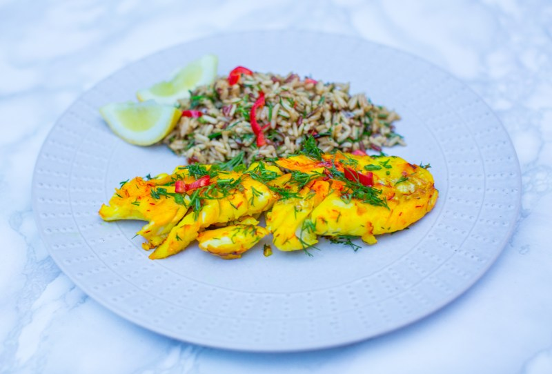 Fitness On Toast Faya Blog Girl Healthy Cod Turmeric Spice Saffron Flavour Diet Low Calorie High Protein Delicious Dinner Lunch idea