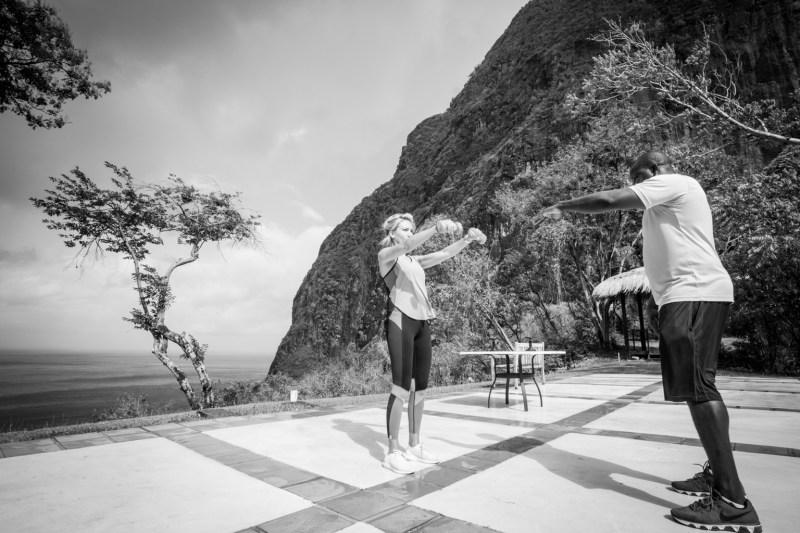 Fitness On Toast Faya Blog Girl Healthy Workout Viceroy Sugar Beach St Lucia Caribbean Hotel Holiday Luxury Resort Sun Travel-10