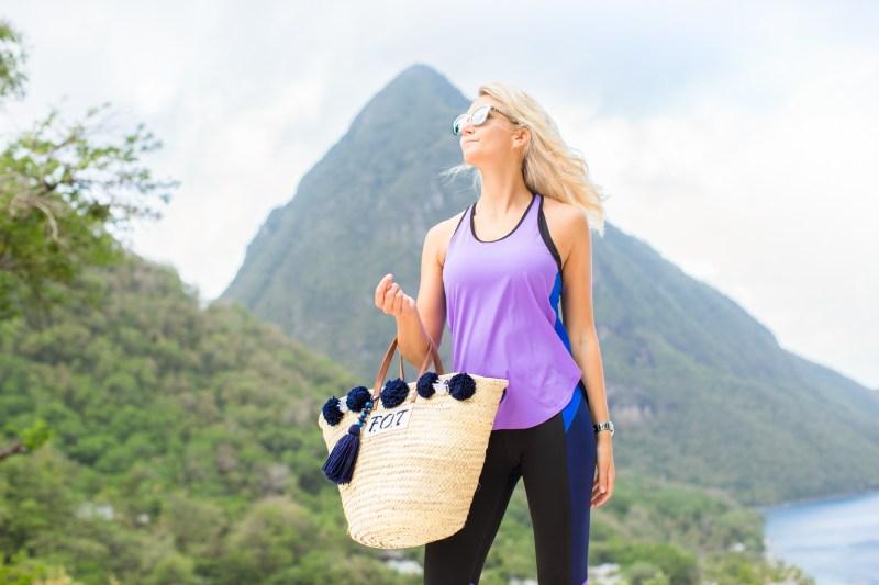 Fitness On Toast Faya Blog Girl Healthy Workout Viceroy Sugar Beach St Lucia Caribbean Hotel Holiday Luxury Resort Sun Travel