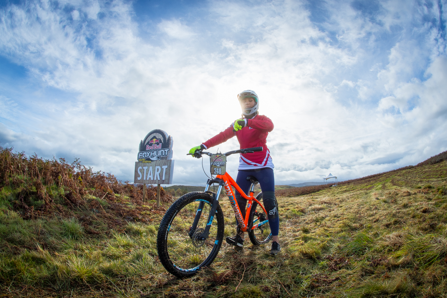 Faya - Fitness On Toast - Wales EE 4G Balloon Signal Bike Rural Apple Watch Adventure Cyclicing Downhill Mountain Bike Biking Workout Event-9