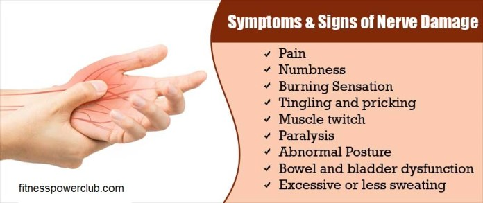 Symptoms of Nerve Damage