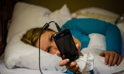 If you have a habit of keeping a smartphone near head during night , then be aware that it may be a serious illness
