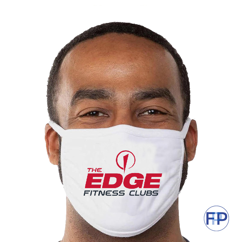 custom 3 ply cotton virus masks for gyms and fitness promotional product