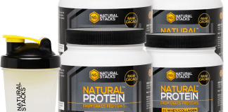 Natural Protein stacks - nutrition products. Users reviews and results