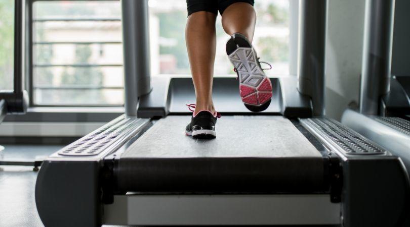 using treadmill