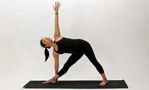 extended triangle stretch
