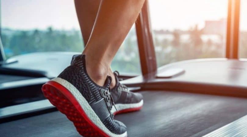 shock absorption treadmill