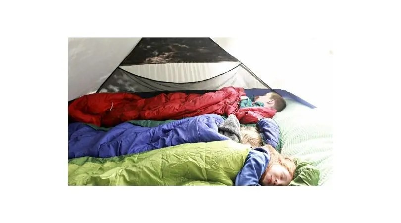 sleep comfortably while camping