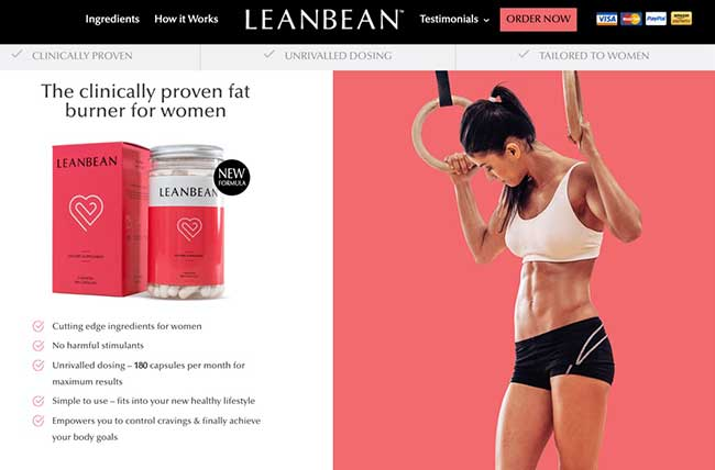 LeanBean official website