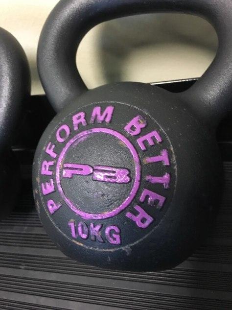 Perform Better 10kg kettlebell