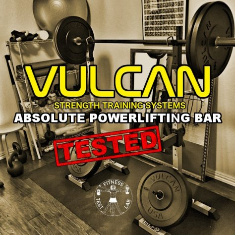 Vulcan Absolute Powerlifting Bar Review - Title and Featured Pic
