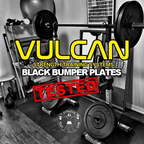Vulcan Black Bumper Plates Review - Title and Featured Pic