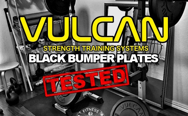 Vulcan Black Bumper Plates Review