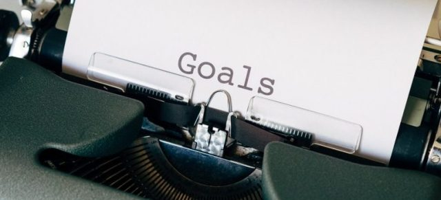 """goals"" on typewriter machine"