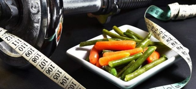 veggies and measuringt ape as one of the Weight loss tricks