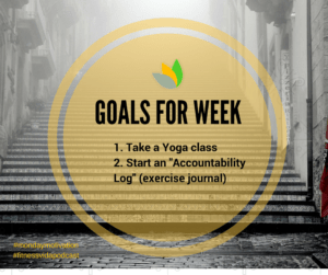 Copy of goals for WEEK #4