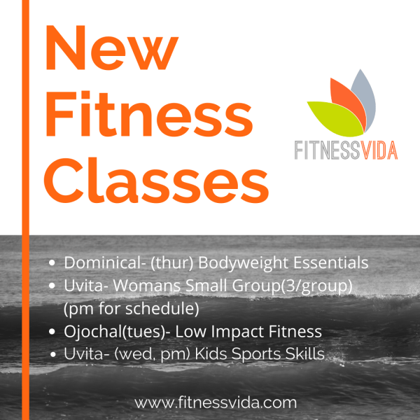 fitness classes in uvita dominical ojochal costa rica by fitness vida
