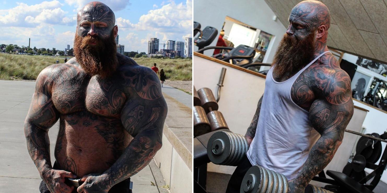Home Chest Workout Men Bodybuilding