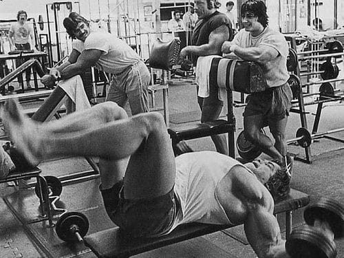 Old School Chest Workout