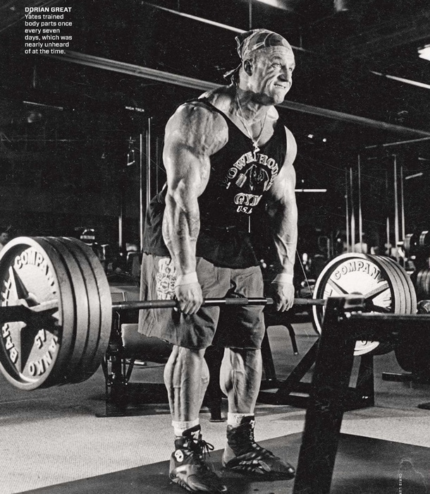 Dorian Yates Deadlift
