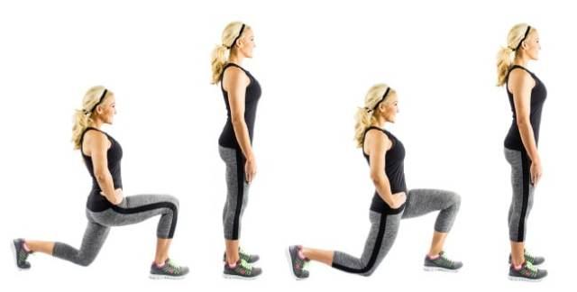 Walking Lunges Bodyweight