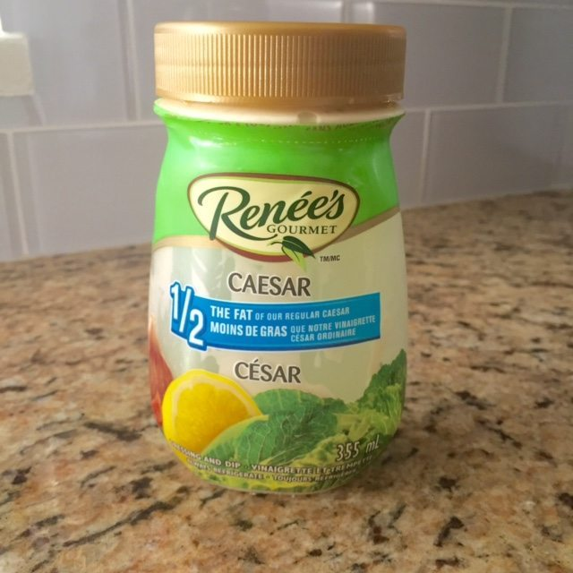 Renee's Half the Fat Caesar Dressing