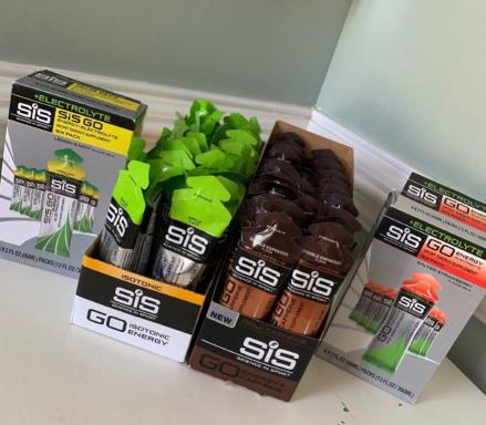 A large delivery of SIS products.