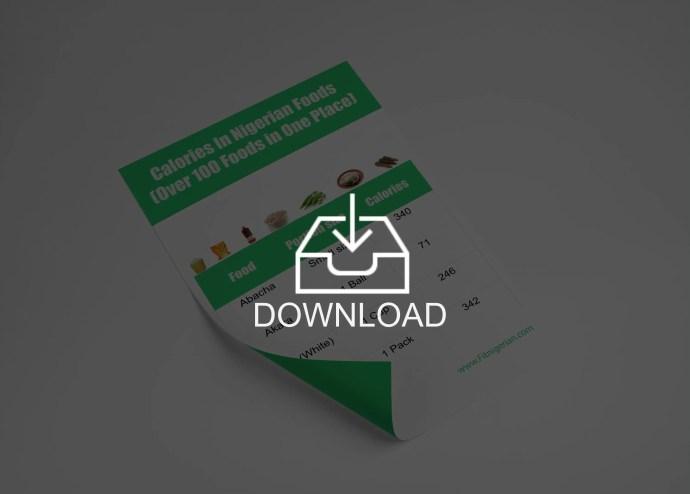 lose weight in nigeria pdf
