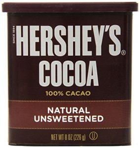 unsweetened pure cocoa powder