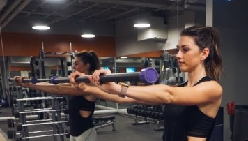 More wrist extension with a bar