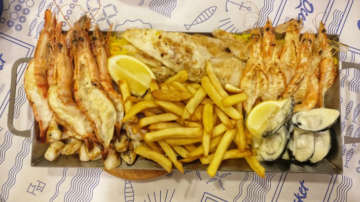 Best tips for the fit weekend break in Malta - eat a lot of seafood