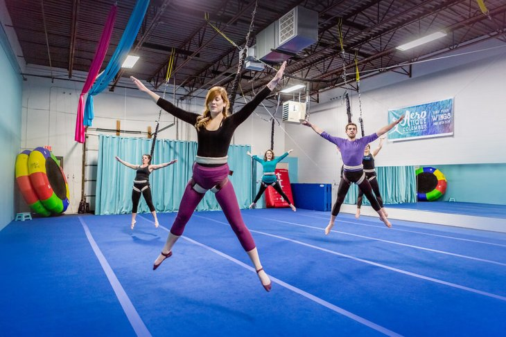 Top 10 unconventional fitness experiences - Bungee class
