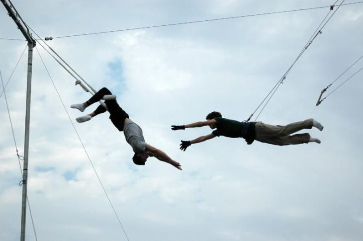 Top 10 unconventional fitness experiences - Flying Trapeze